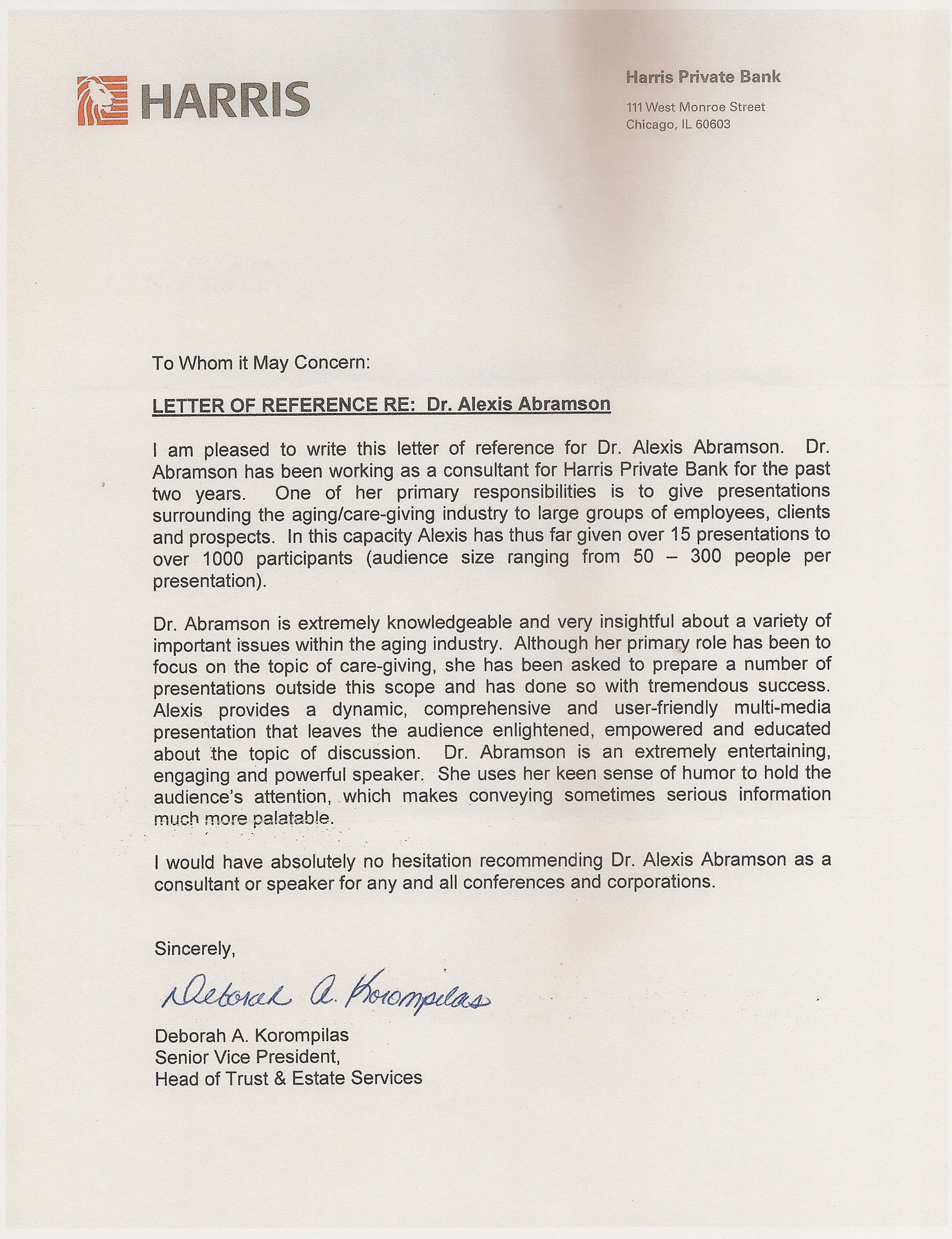 Financial Reference Letter For Co Op Cover Templates